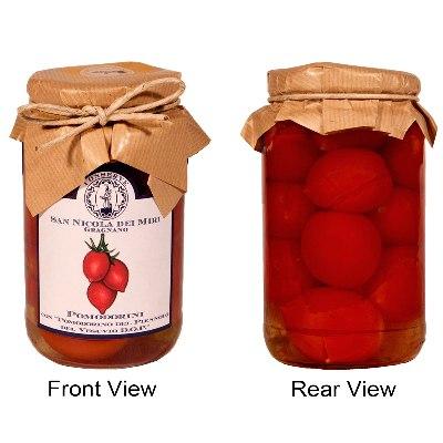 """Pomodorini"" Whole Piennolo Tomatoes: D.O.P."