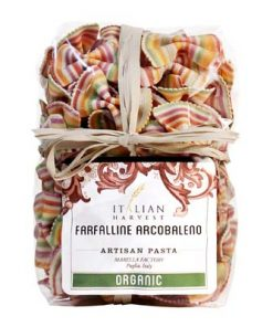 Farfalline Arcobaleno Little Rainbow Bowties by Marella: Organic