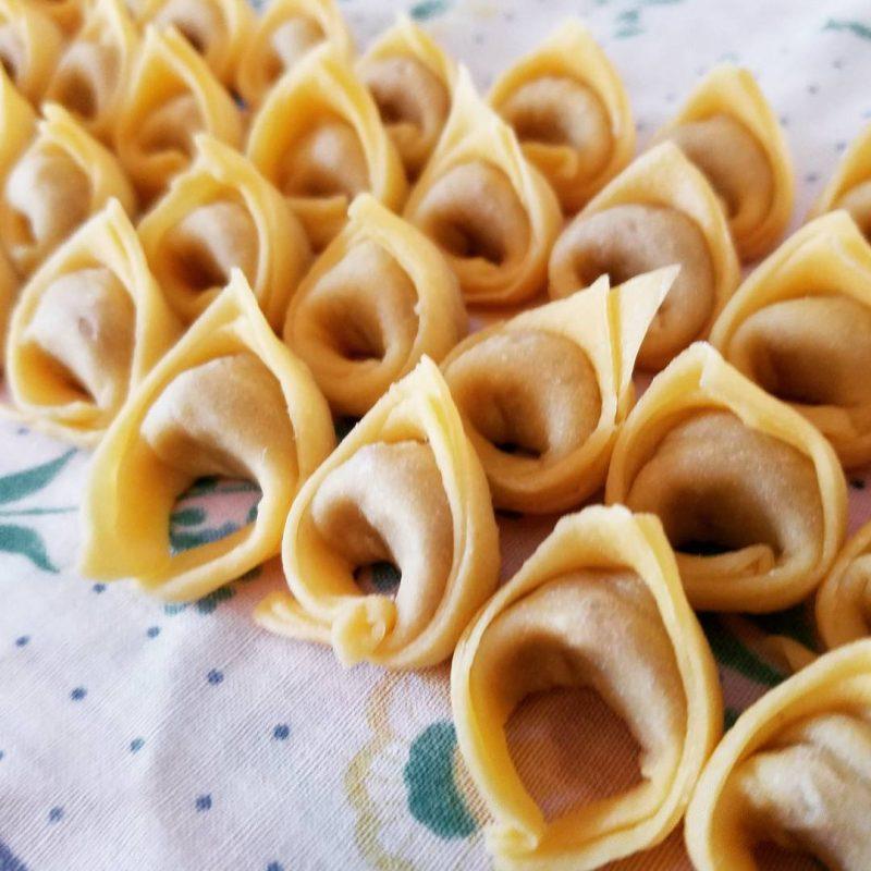 tortellini freshly made
