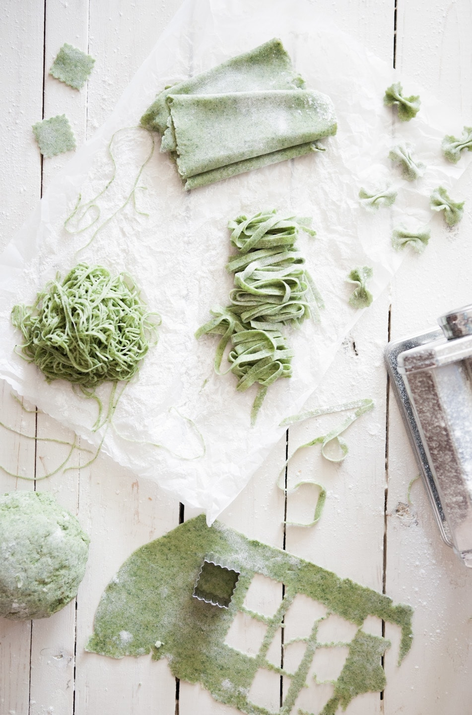 Homemade Spinach Pasta Dough Recipe