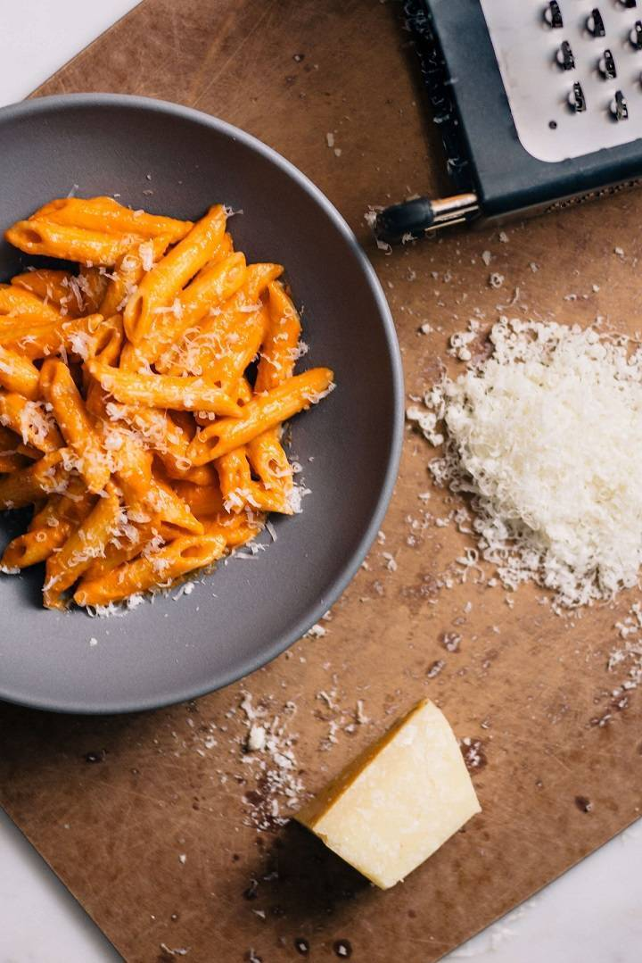 penne alla vodka recipe with ingredients