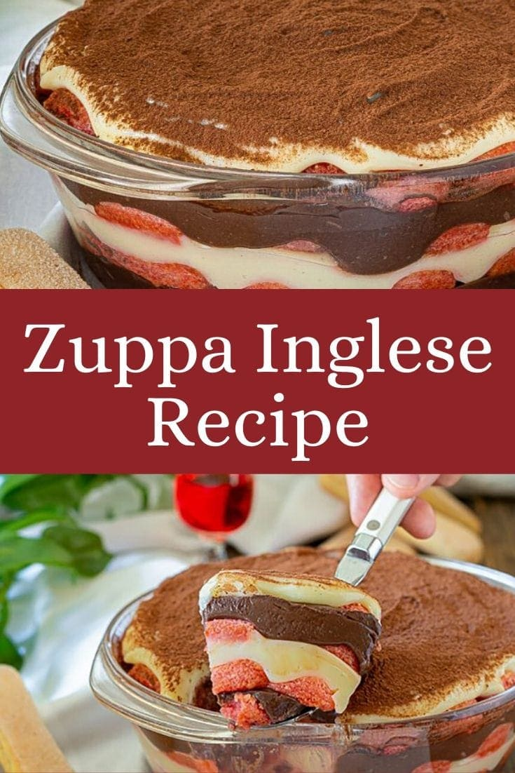 Zuppa Inglese Recipe (Best Italian Trifle Recipe)