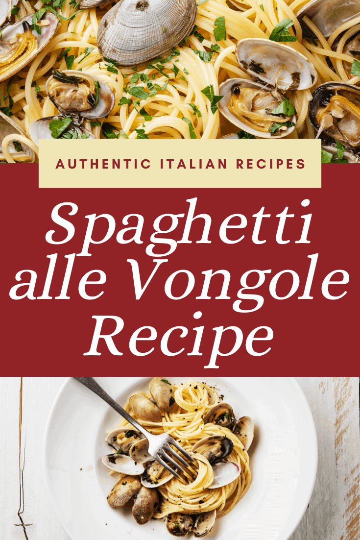 Learn how to cook the perfect Spaghetti alle Vongole with this easy recipe! #pasta #clams #italian #recipe