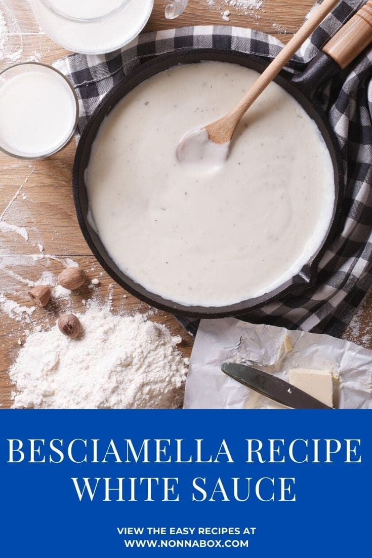 How to Make Besciamella (White Sauce)