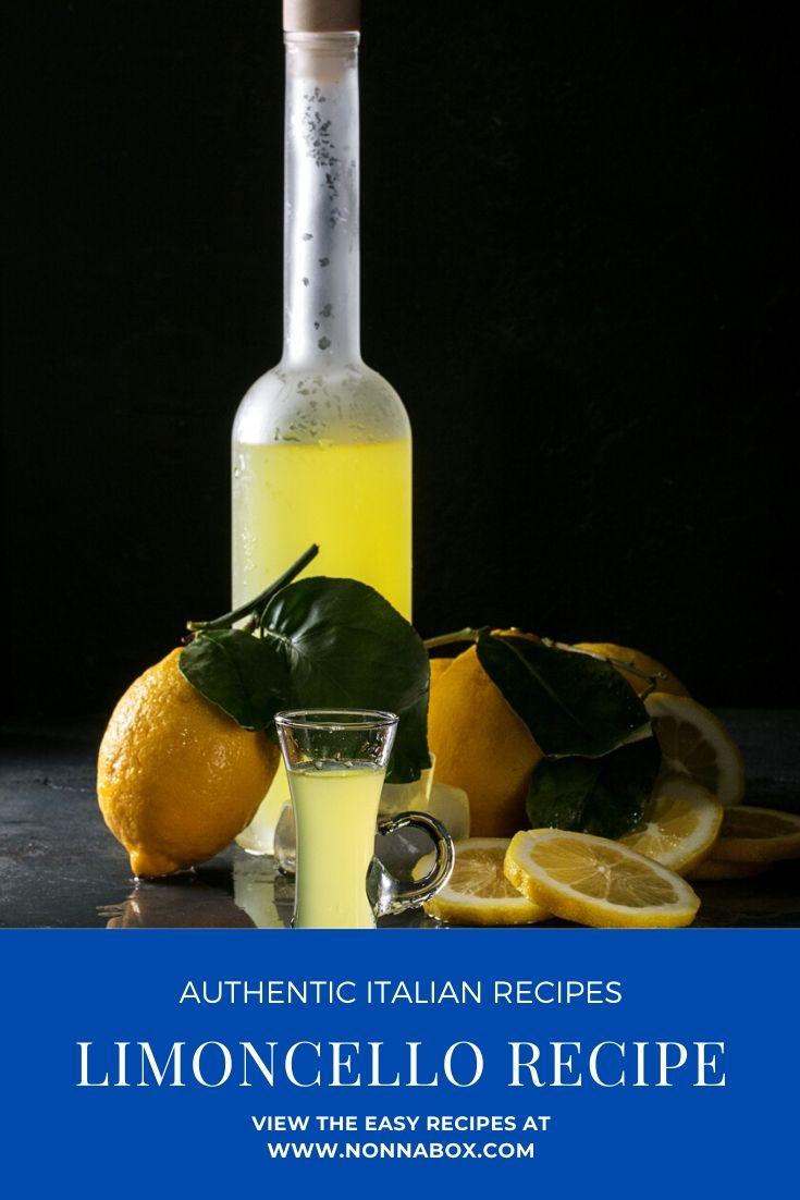How to Make Homemade Limoncello Recipe