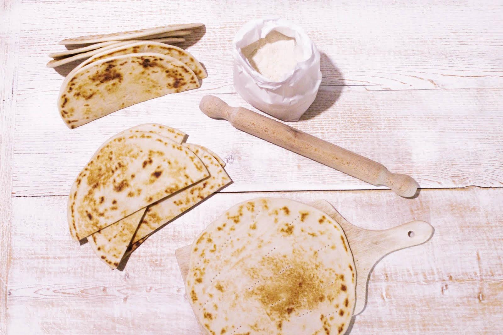 traditional piadina romagnola