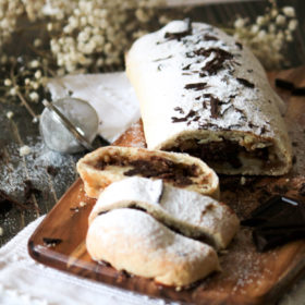 chocolate and pear strudel recipe