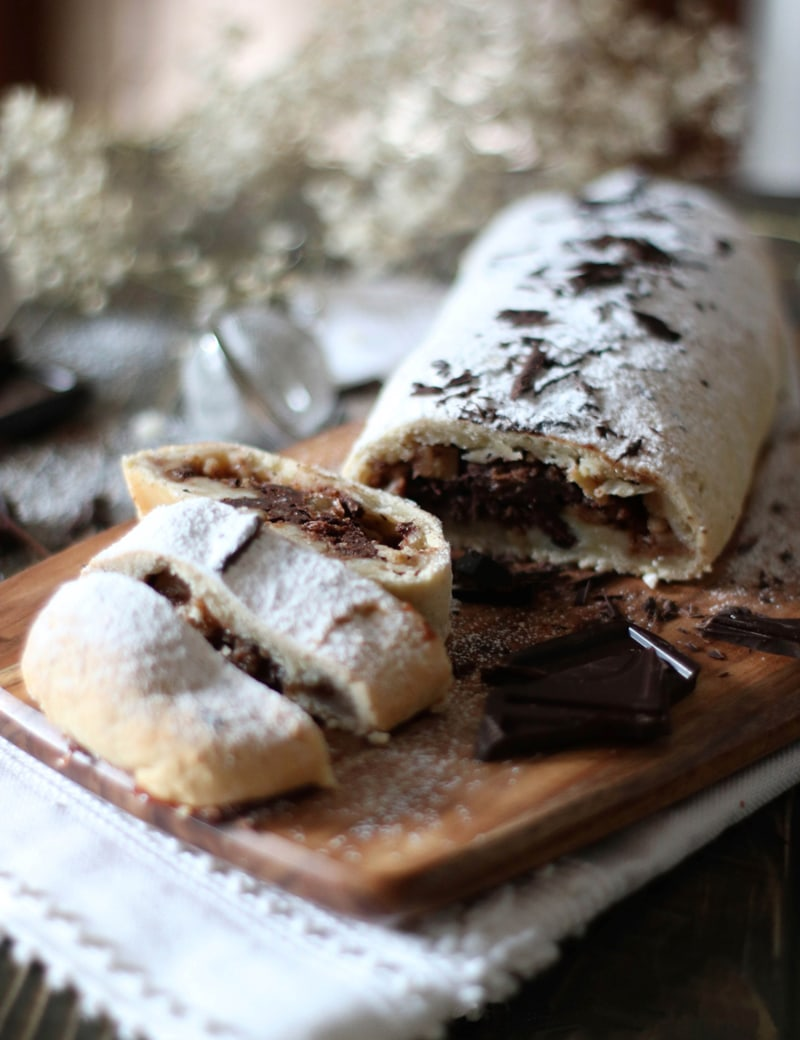 pear and chocolate strudel recipe