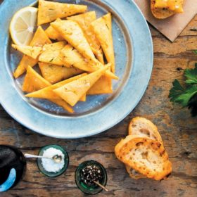 Panelle-Chickpea fritters