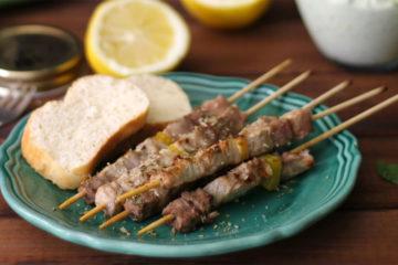 lamb skewers arrosticini abruzzesi recipe
