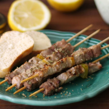lamb skewers arrosticini abruzzesi recipe