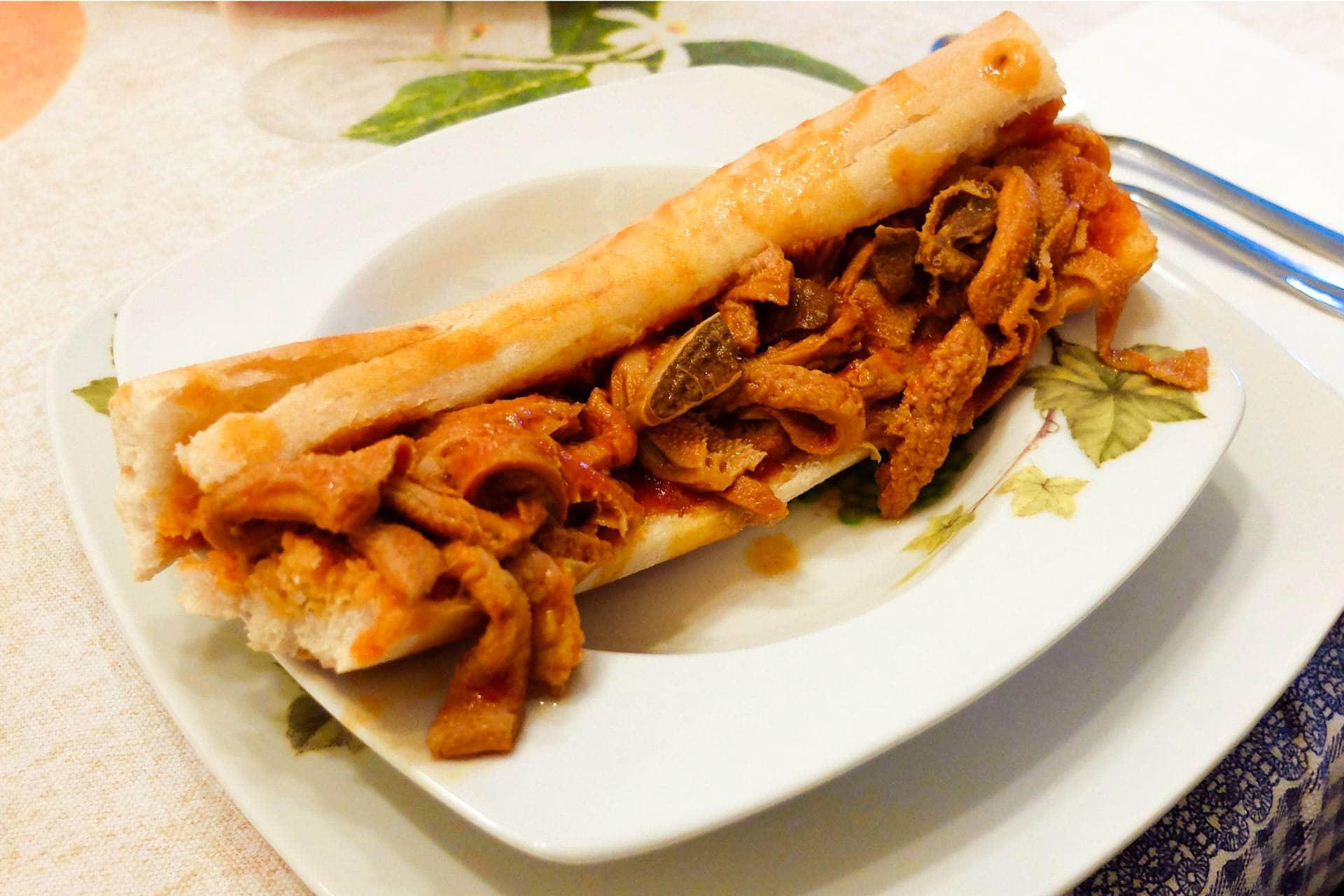morzello calabrese with pitta