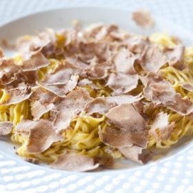 tajarin pasta recipe with white truffle