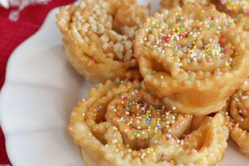 cartellate Italian dessert