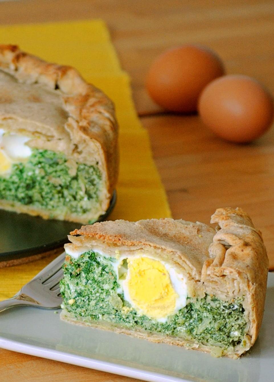 Traditional Torta Pasqualina recipe
