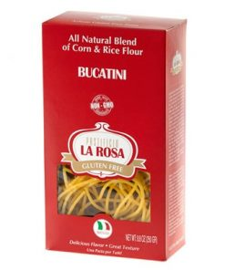 Bucatini Gluten Free Corn & Rice Pasta by La Rosa