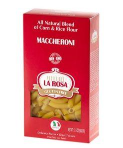 Maccheroni Gluten Free Corn & Rice Pasta by La Rosa
