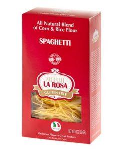 Spaghetti Gluten Free Corn & Rice Pasta by La Rosa