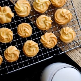 Italian butter cookies recipe small