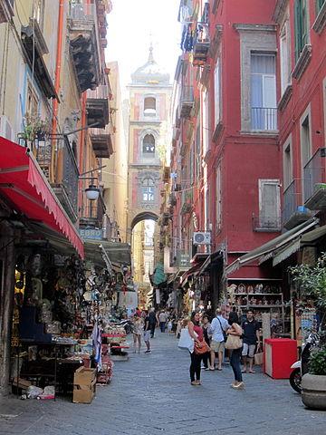 Napoli San Gregorio Armeno Market
