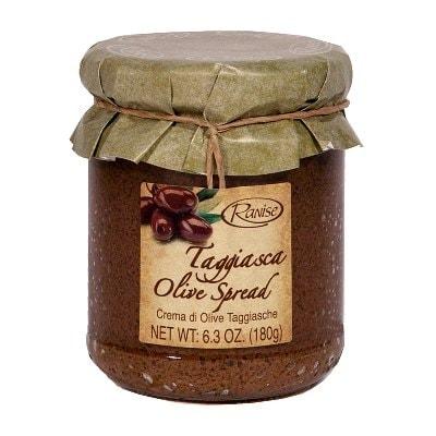 "Black ""Taggiasca"" Olive Spread"