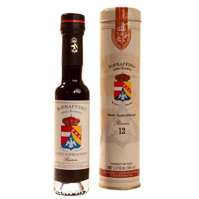 *Sopraffino Aged Wine Vinegar: 12 Year