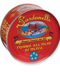 Tuna in Extra Virgin Olive Oil: 5.65 oz. Tin