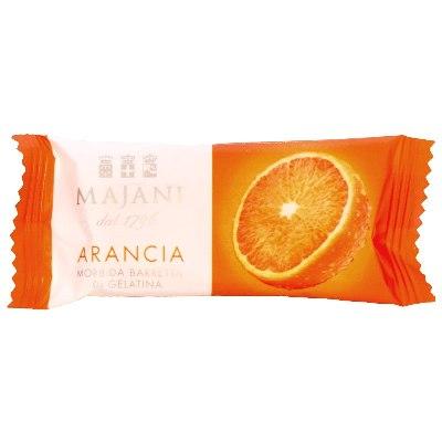 """Fruit Gel """"Juicy Snack"""" Bars: Orange (Box of 12)"""