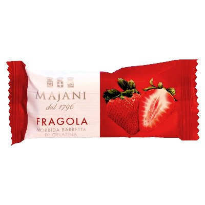 "Fruit Gel ""Juicy Snack"" Bars: Strawberry (Box of 12)"