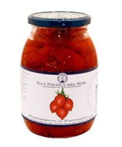 """Pomodorini"" Sliced Piennolo Tomatoes, D.O.P: Bulk"