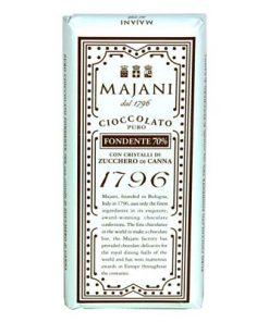 "1796 ""Fondente 70%"" Extra Dark Chocolate Bar with Sugar Crystals"