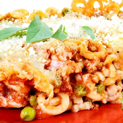 Baked Anelletti Recipe - Anelletti al Forno