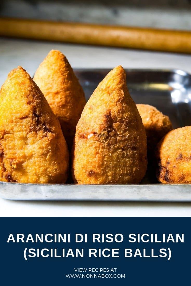 Arancini di Riso Siciliani - Sicilian Rice Balls Recipe