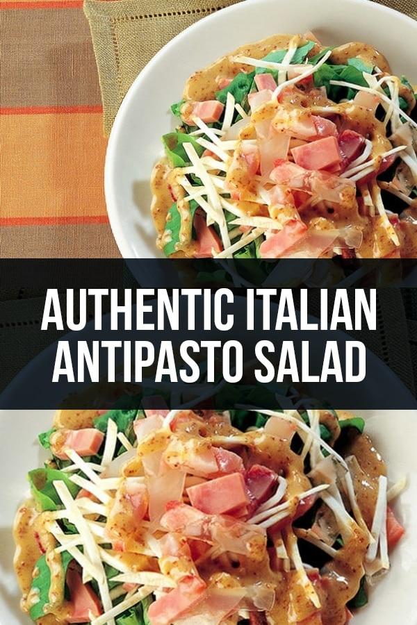 Authentic Italian Antipasto Salad Recipe