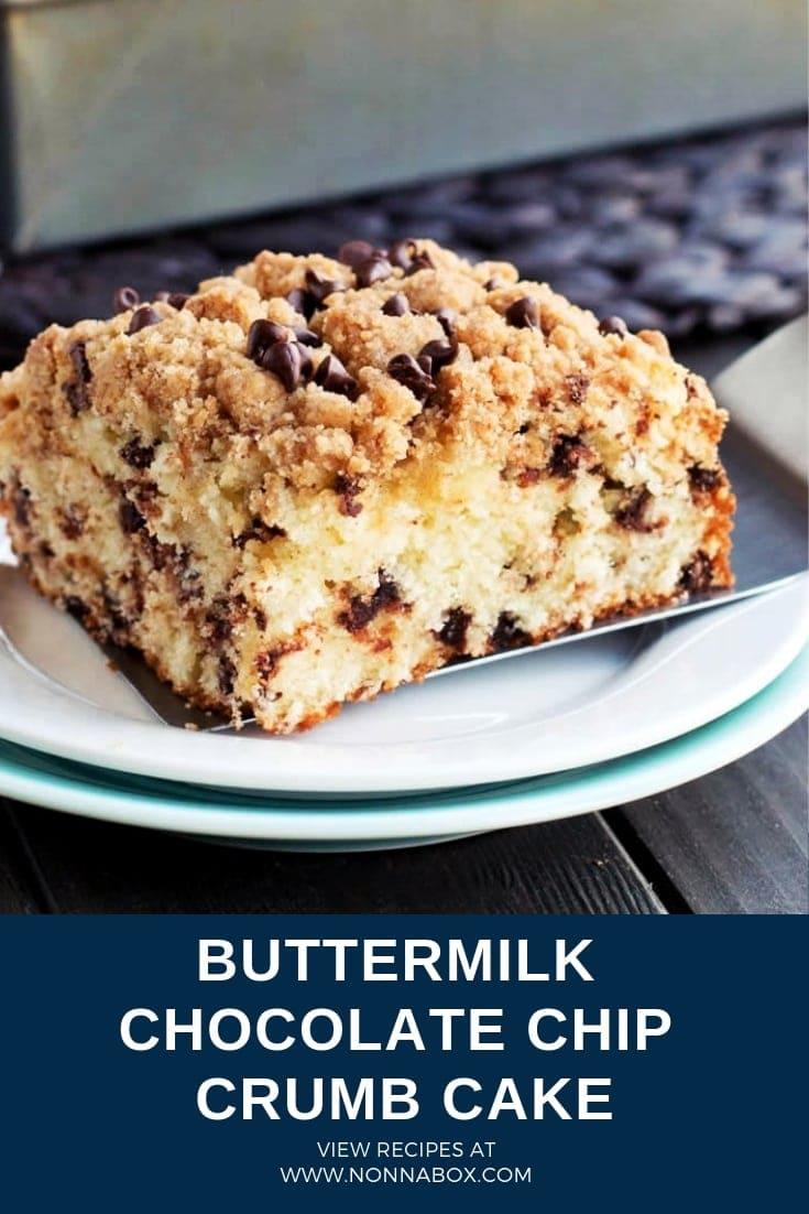 Buttermilk-Chocolate Chip Crumb Cake Recipe