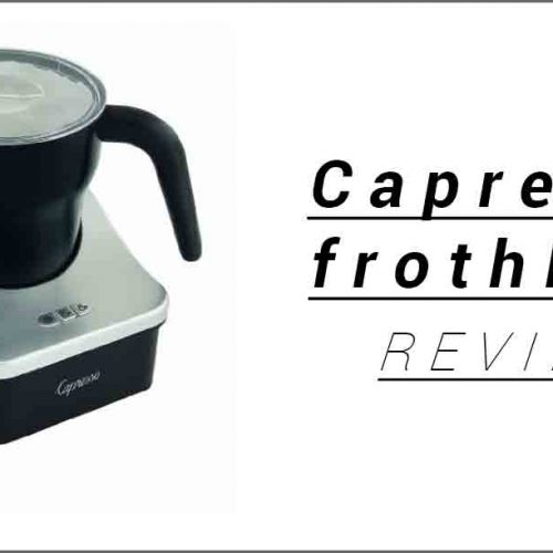 Capresso frothPRO review guide