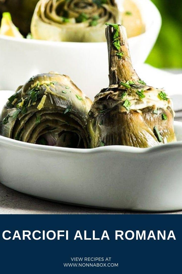 Carciofi alla Romana – Roman Style Artichokes Recipe