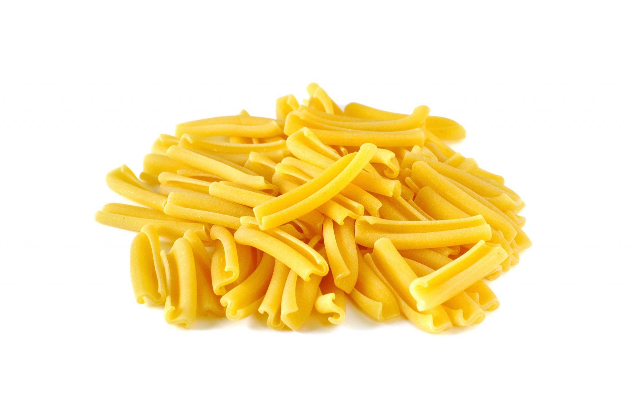 Casarecce, pasta asciutta italiana