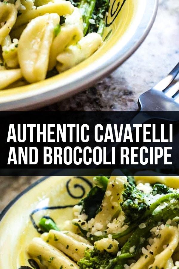 Authentic Cavatelli and Broccoli Recipe