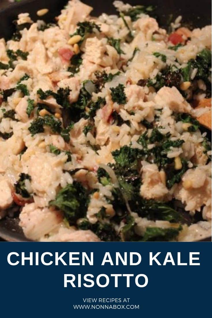 Chicken and Kale Risotto: A Tasty Way To Cook A Superveggie