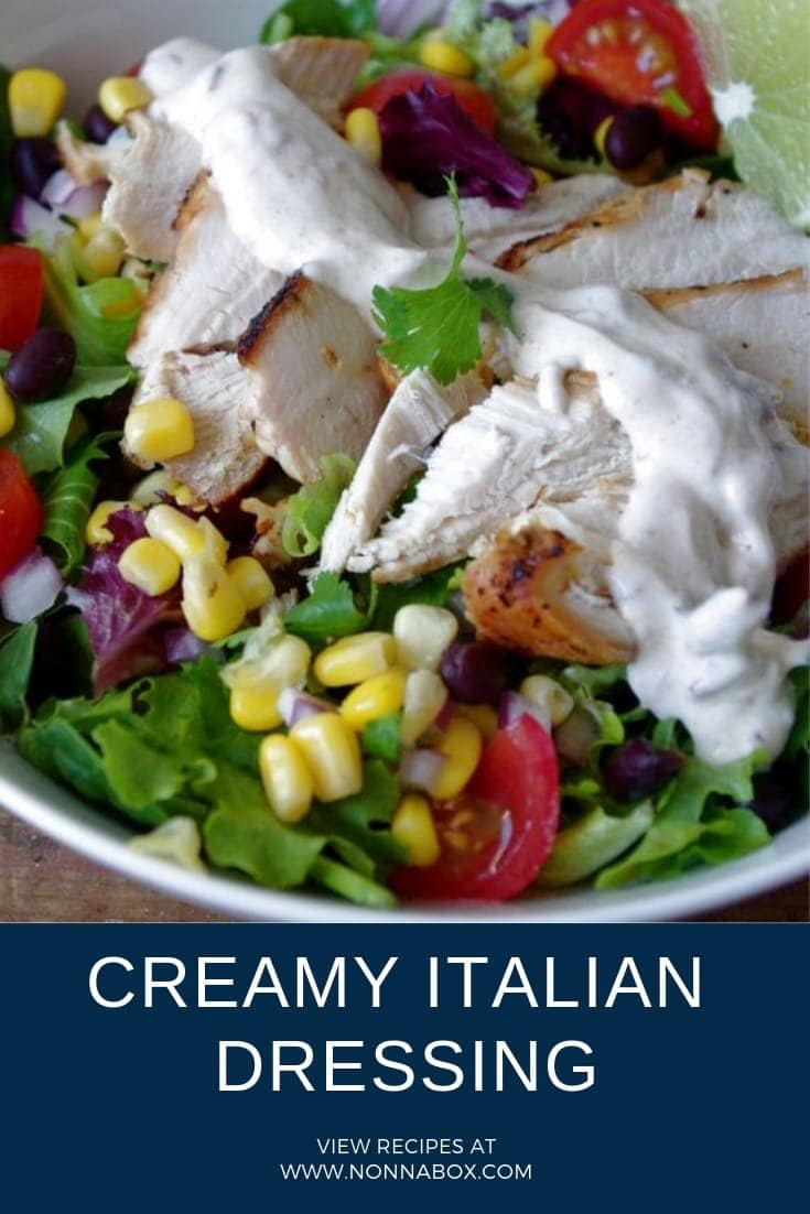 Creamy Italian Dressing Recipe: Salad Never Tasted This Good