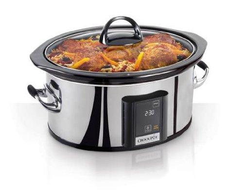 Crock-Pot 6.5-Quart, Programmable Touchscreen Slow Cooker