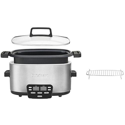 Cuisinart MSC-600 3-In-1 Cook Central 6-Quart Multi-Cooker: Slow Cooker