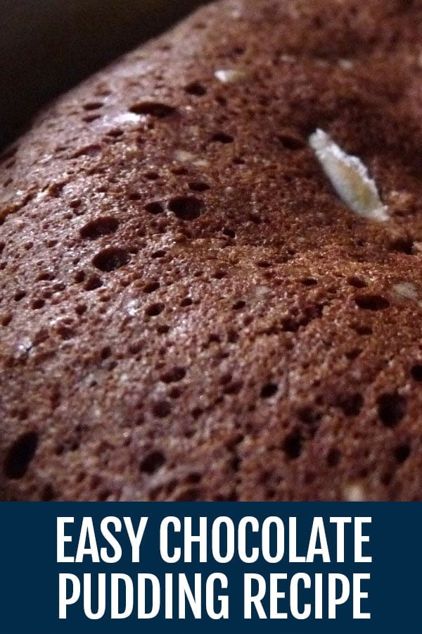 Easy Chocolate Pudding Recipe – With Sexy Filling