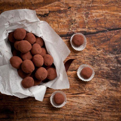 Easy Chocolate Truffles Recipe Delicious