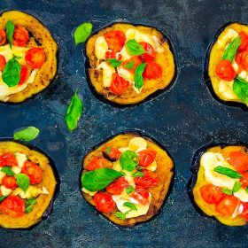 Eggplant Pizzette Recipe