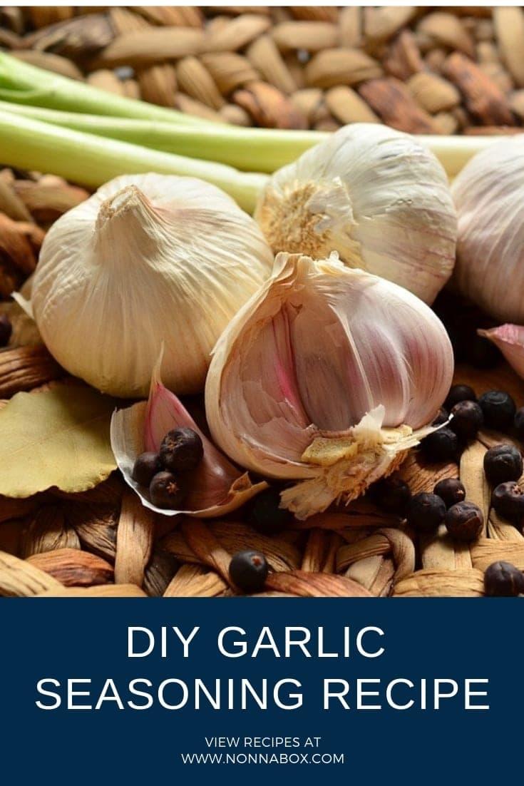 DIY Garlic Seasoning