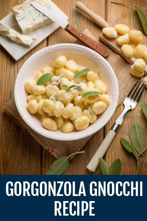 Creamy Gorgonzola Gnocchi and Sauce Recipe