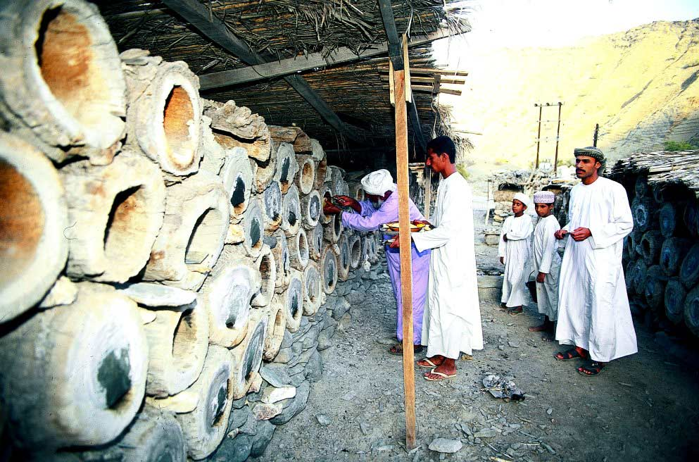 Harvesting Honey In Oman