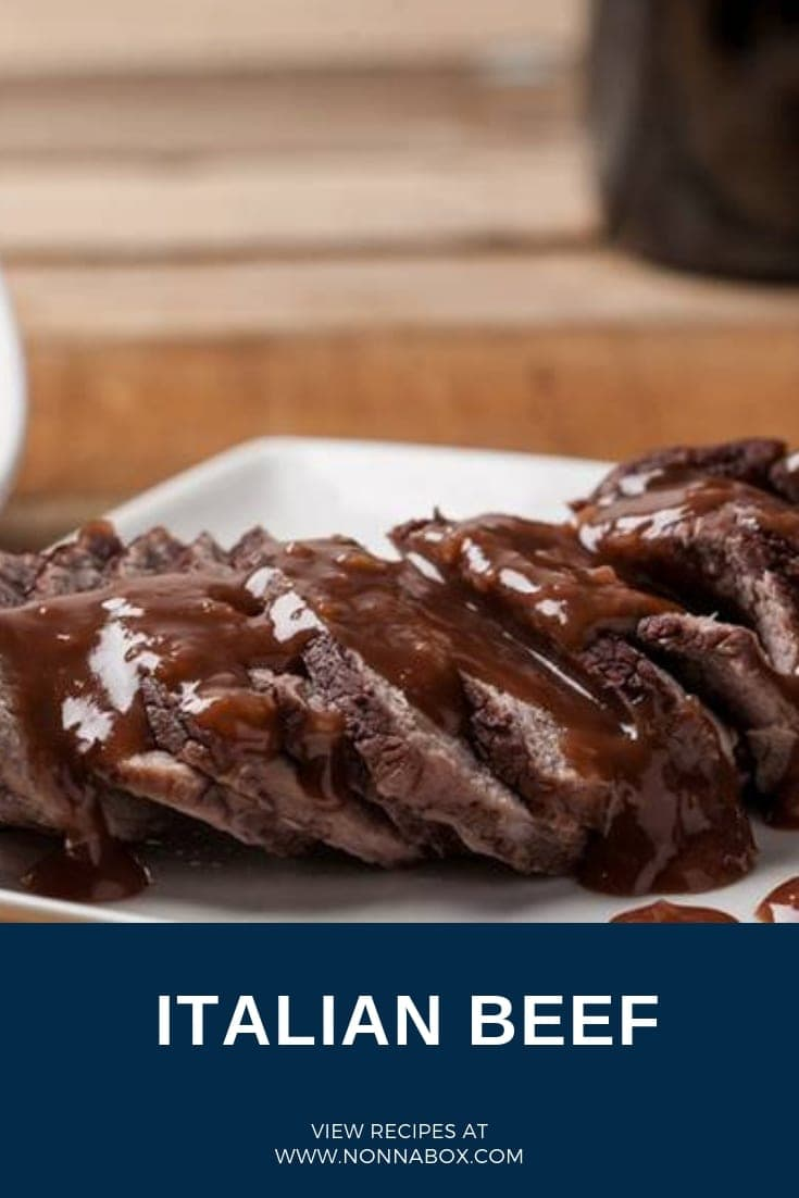 Authentic Italian Beef Recipe